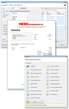 Ness Engineering Account System